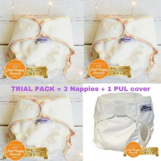 CLOTH NAPPIES TRIAL PACK