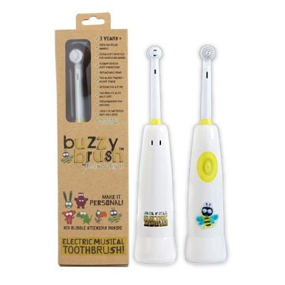 Jack 'n Jill Buzzy Brush Electric Musical Toothbrush
