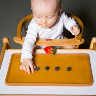 Hevea Infant Feeding Place Mat - 100% Natural Rubber Baby Feeding Mat